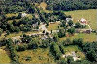 Aerial view of the town center - Photo taken by Linda Hickman in 1996