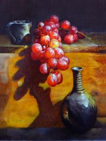 Liqueur 16in x 20in oil on canvas by Clifton Hunt.  Courtesy of the Artist