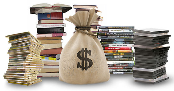 Please Donate good condition DVDs and Books to the Library