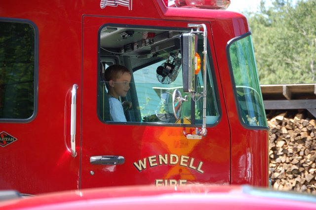 During Wendell Old Home Day Parade - Photo By Christopher Parker