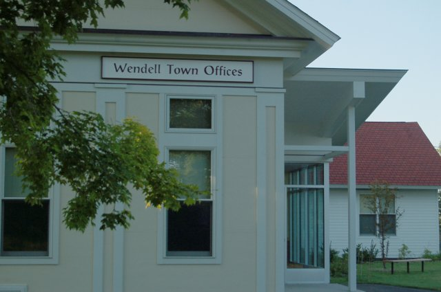 Wendell Town Offices - Photo By Christopher Parker, August 14, 2009